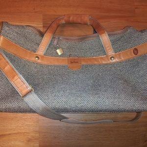 Hartmann Tweed /Leather  Unisex Travel Duffel